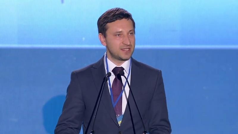 Виступ Руслана Калініна на Форумі демократичних сил