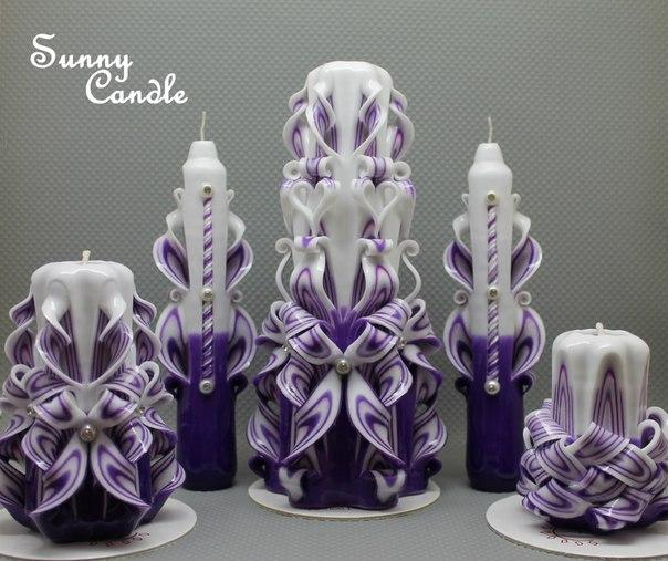 Оригинальные свечи и красивые лайфхаки