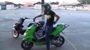 Лучшие моменты сезона StuntRiding Scooter Aprilia SR Стант на скутере