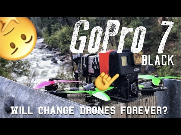 NEW GoPro 7 Black ULTIMATE DRONE CAMERA FLAWS| RAW FOOTAGE TEST