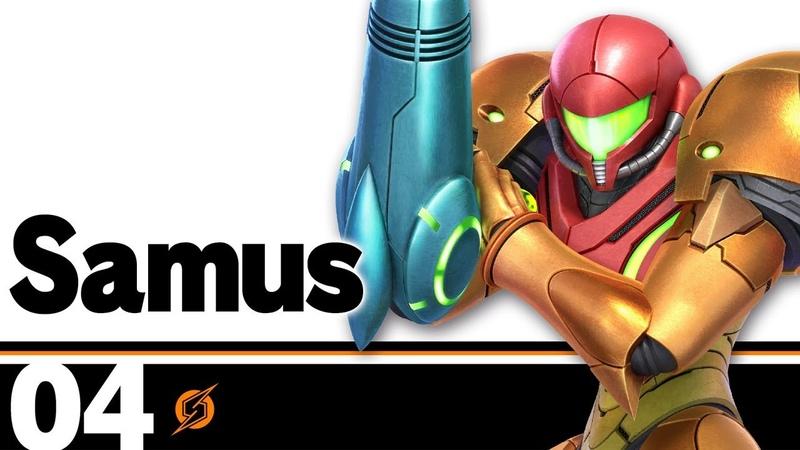 04 Самус Super Smash Bros Ultimate