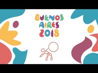 Художественная гимнастика. Юношеские Олимпийские игры #БуэносАйрес2018
