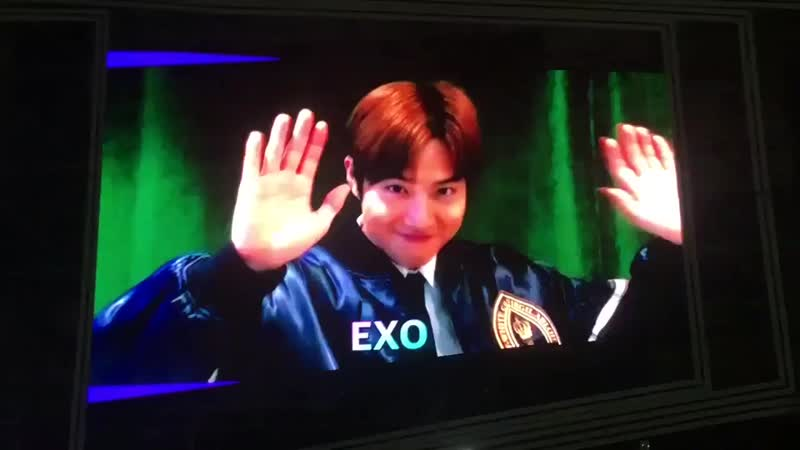 181020 Suho in Busan One Asia Festival Opening vcr