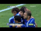 Diego Costa's first Chelsea FC goal