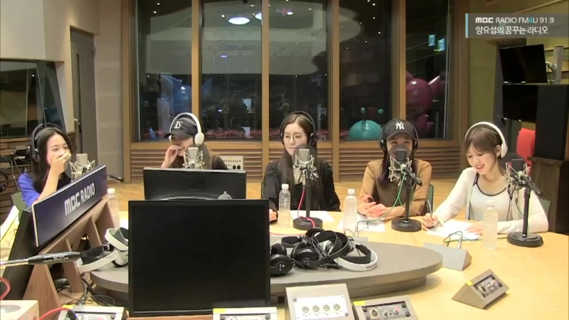 180821 MBC Yang Yoseob's Dreaming Radio FM4U Red Velvet
