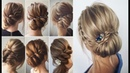 QUICK AND EASY HAIRSTYLES || QUICK AND EASY Heatless Hairstyles for medium hair