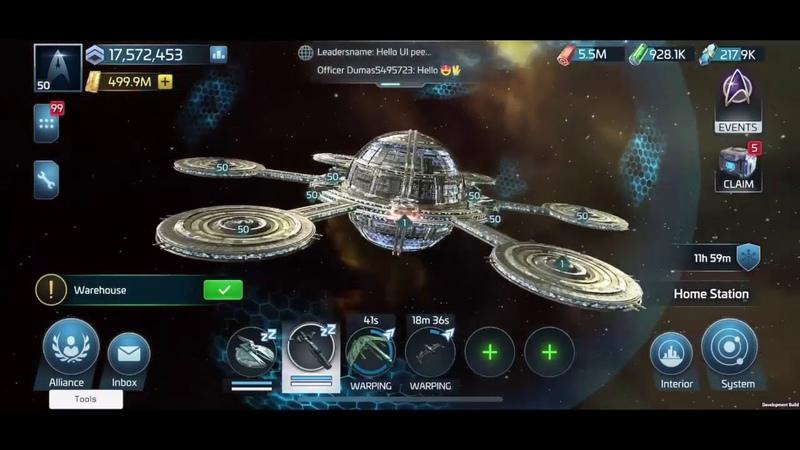 Star Trek Fleet Command Game Play Video