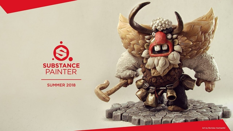 Substance Painter Summer 2018: Multi-camera support