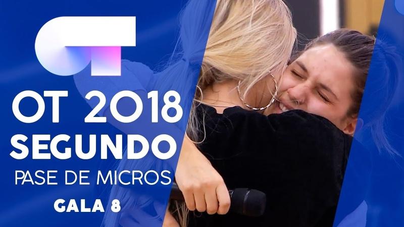I WANT TO HOLD YOUR HAND - SABELA y MARÍA | SEGUNDO PASE DE MICROS GALA 8 | OT 2018