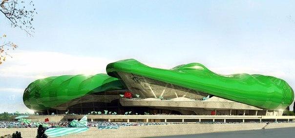 """""""Бурсаспор"""" построит стадион в форме крокодила"""