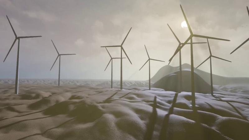 Tutorial - Wind Turbine - Blender Unreal engine 4 Blueprint