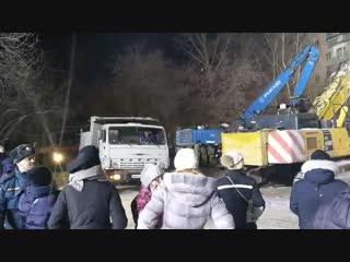 Федеральные силы МЧС завершают свою работу в Магнитогорске