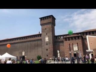 Прямяком из Милана, ярмарка Талантов и мастер-классов, на открытом воздухе , кайф