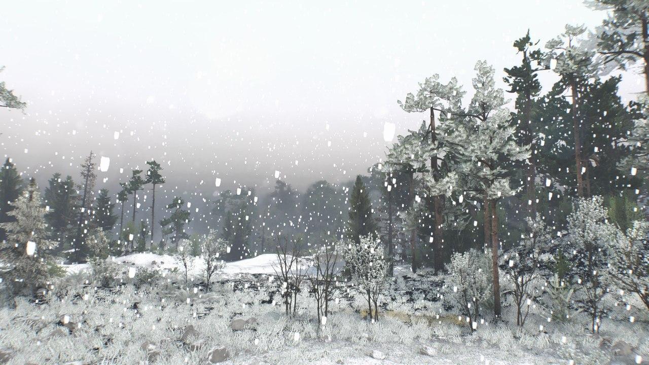 """Мод """"Первый снег"""" для 16.12.15 для Spintires - Скриншот 1"""
