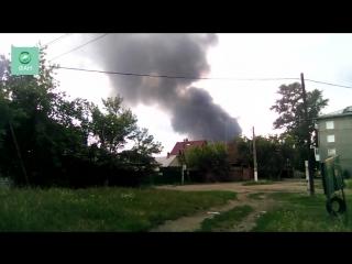 ФАН публикует видео пожара на иркутском авиазаводе