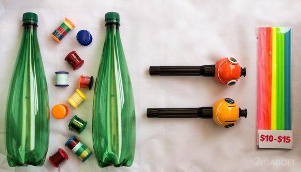 RTSo8-nC4pc 3D-ручка, использующая остатки пластиковых бутылок