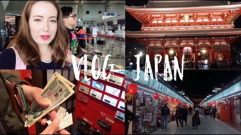 Влог Токио 1 Наш отель, храм Сенсодзи, сакуровый латте, дарумы, лучший рамен.