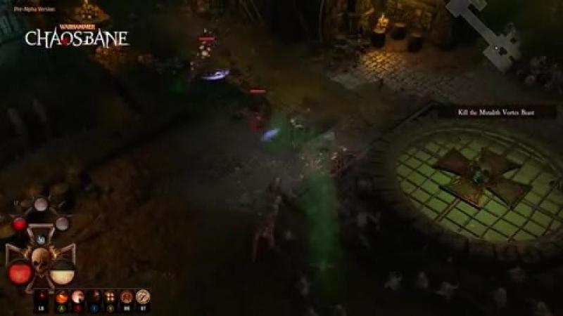 Warhammer: Chaosbane - геймплейное видео с комментариями разработчиков