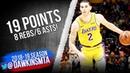 Lonzo Ball Full Highlights 2019.01.15 Lakers vs Bulls - 19 Pts, 8 Rebs, 6 Asts! | FreeDawkins
