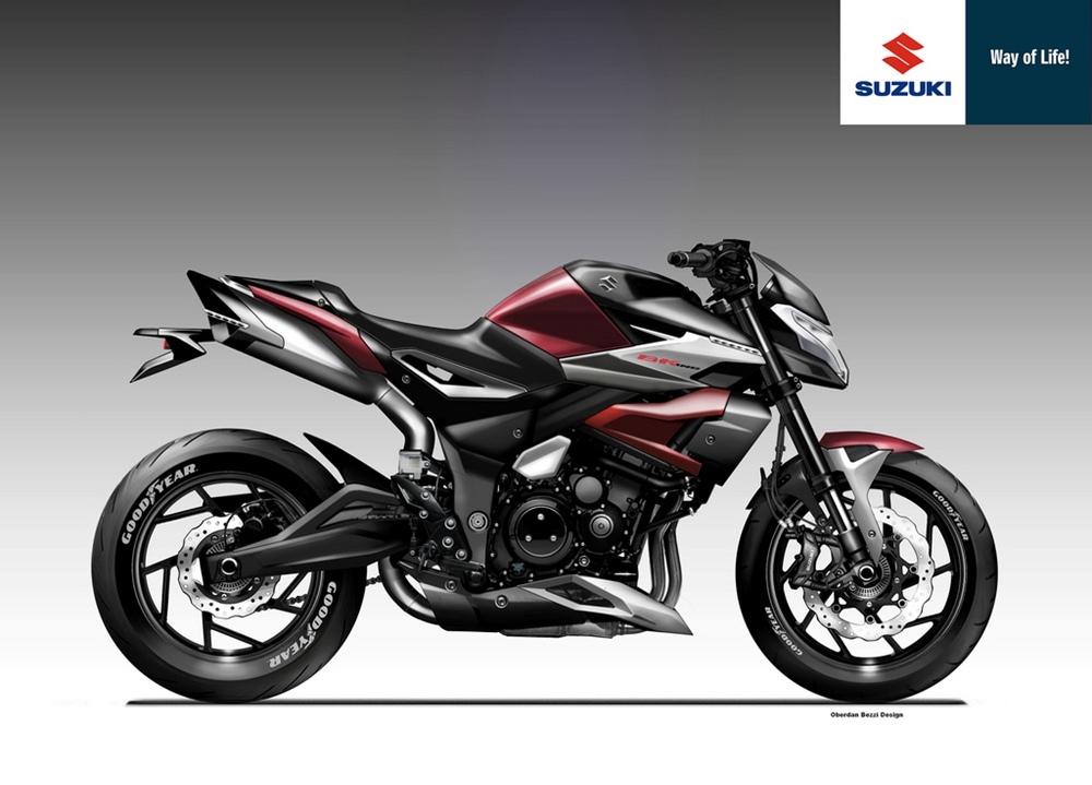 Обердэн Бецци: концепт Suzuki B-King 1400 Next