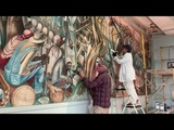 Saving Iconic Mural by Most Famous Historic African American Artist Dr John Biggers