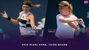 Petra Kvitova vs. Donna Vekic | 2019 Miami Open Third Round | WTA Highlights