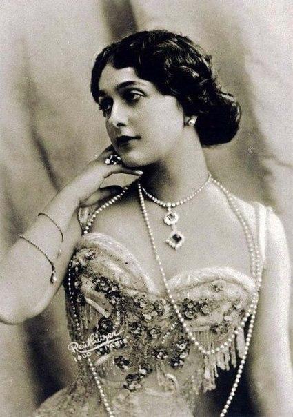 Лина Кавальери, первая фотомодель, 1900е