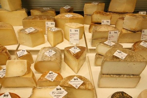 Сырная карта Испании, настоящий испанский сыр