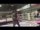 Будущии боец БК гладиатор Нальчик. 12 летный Радмир оттачиваем ударную технику 🥊💪🏻🥊тренер @azizov_hanlar