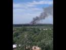 На окраине Рязани загорелся мусорный полигон Соответствующее видео выложено в группе Новости Рязани ВКонтакте Воскресное ут