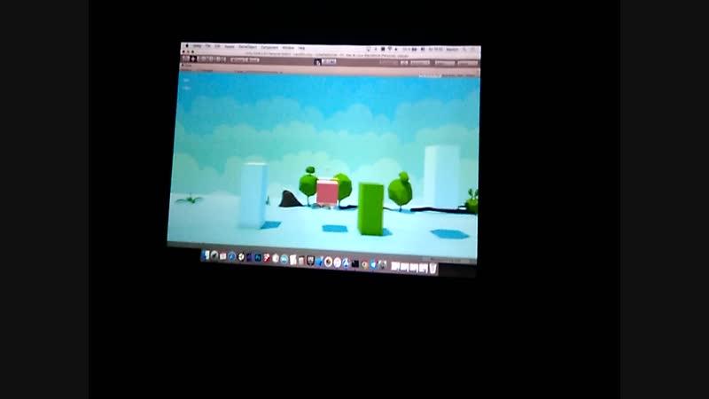 Игра-платформер, разработанная бакалаврами VR/AR из Стерлитамака