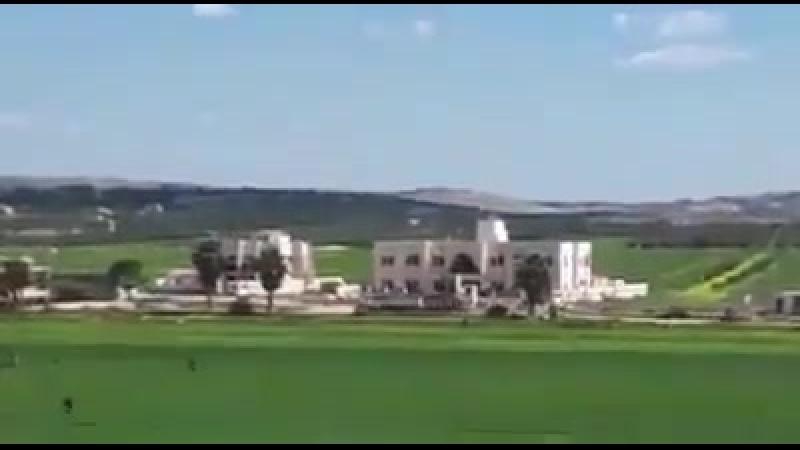 Точечный удар ВКС РФ по зданию шариатского суда группировки «Хайят Тахрир аль-Шам»(запрещено в России) в провинции Идлиб недалек