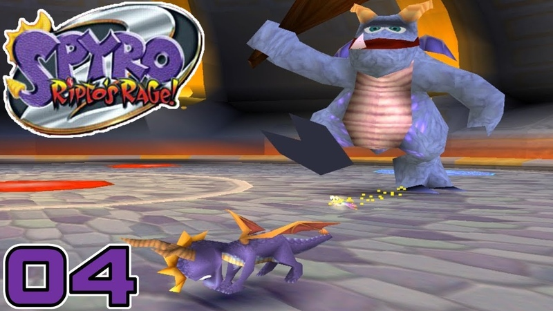 Spyro 2: Ripto's Rage! | Part 4 - Crush Gets Crushed and New Ability