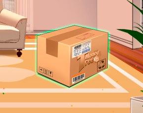 Как вы думайте, что спрятано в коробке?