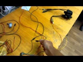 Сервомотор клапана RC (управления с помощью транзисторного моста)