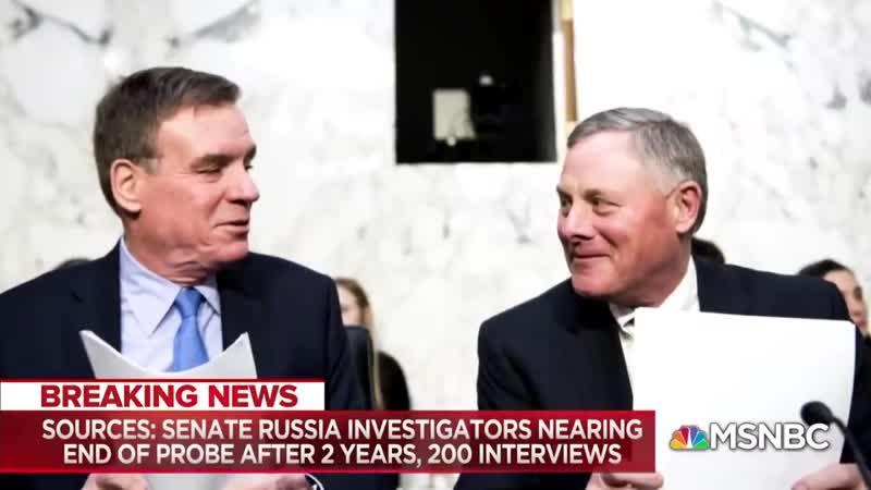 USA Le Sénat découvre 0 collusion entre Trump et la Russie Les présentateurs de MSNBC PANIQUENT HILARANT