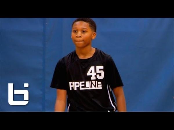 6th Grade Phenom Jaden Jones Has CRAZY Passing Skills Handles!