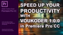 Speed Up Premiere Pro 4K60fps Export in HEVC H265 H264 with Voukoder Intel i7 6950x GTX1070
