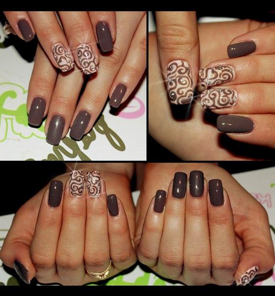 гелевое покрытие натуральных ногтей