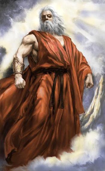 Уран - бог неба Древней Греции