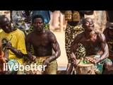 Современная африканская музыка расслабляющая холод из медленных мягких африканских ритмов с