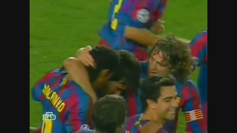 111 CL 2005 2006 FC Barcelona Udinese Calcio 4 1 27 09 2005 HL