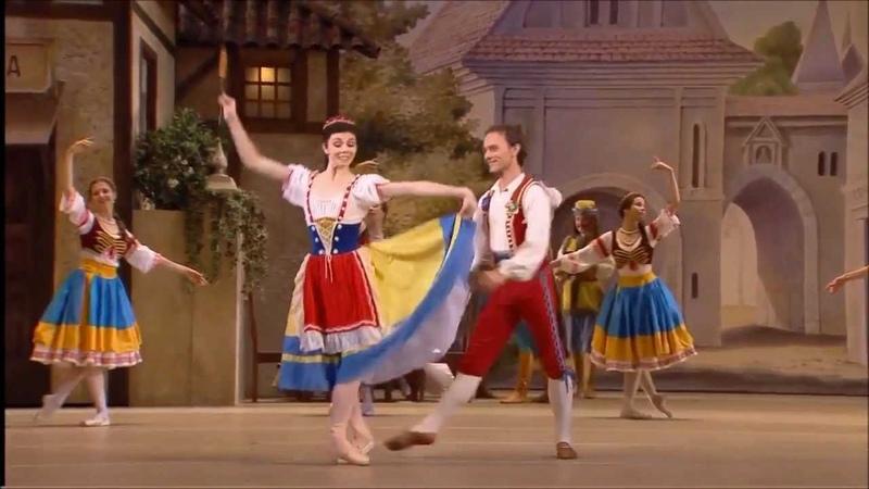 Coppelia Wheat Pas de Deux- Natalia Osipova and Vyacheslav Lopatin