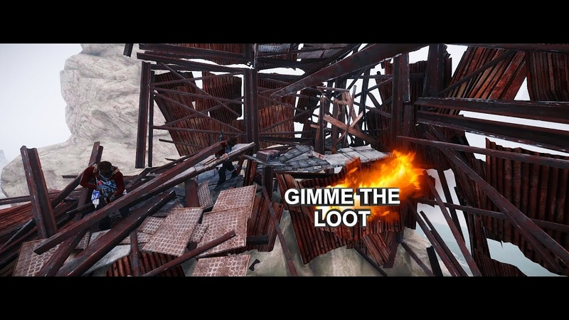 ОТДАЙ МНЕ ВЕСЬ СВОЙ ЛУТ [RUST] Клип Gimme the loot (SICKxSIDE COVER)