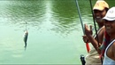 Very Funny Two Catla Fishing Videos By Fish Hooks
