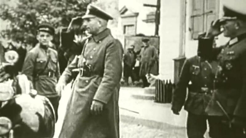USSR and Germany 1939.Совместный парад СССР и Германии 1939 год