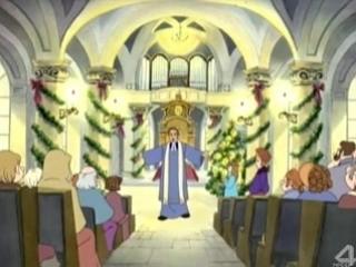 Рождественский мультик Тихая ночь (Песня 4)