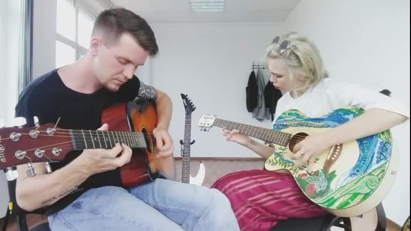Уроки гитары | Ученик Мария, после индивидуальных занятий
