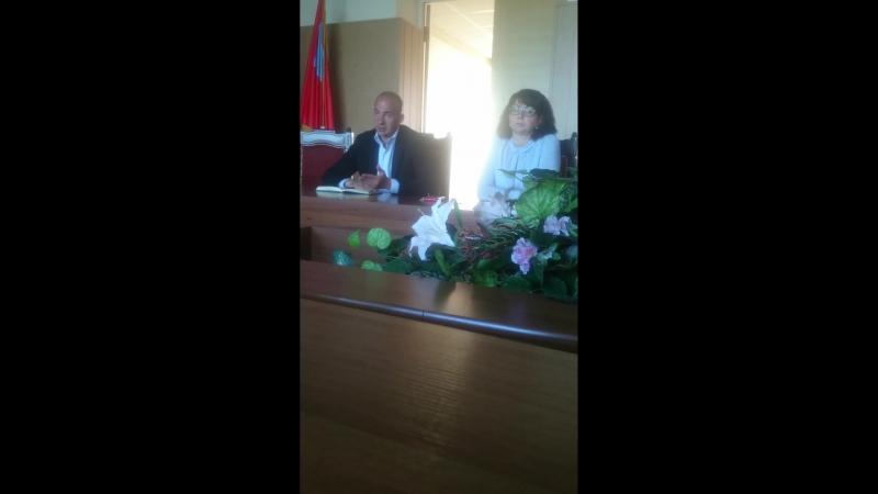 Встреча с главой Коломенского г.о. и руководителем МУП САХ 14 мая 2018 г (часть 2)