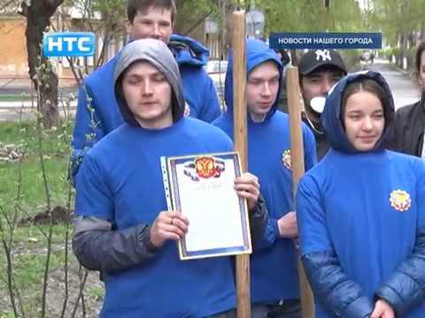 Акция по озеленению бульвара по улице Свердлова объединила 3 поколения ирбитчан